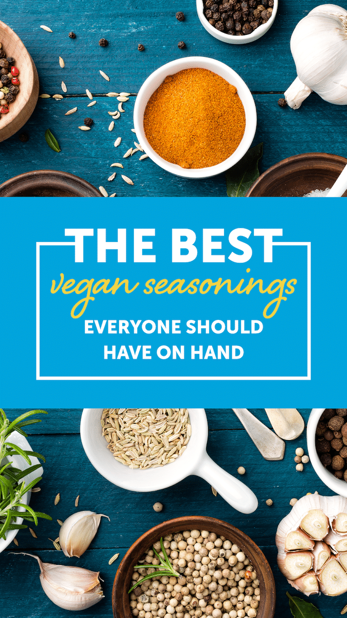 The Best Vegan Seasonings Every Newbie Should Have on Hand