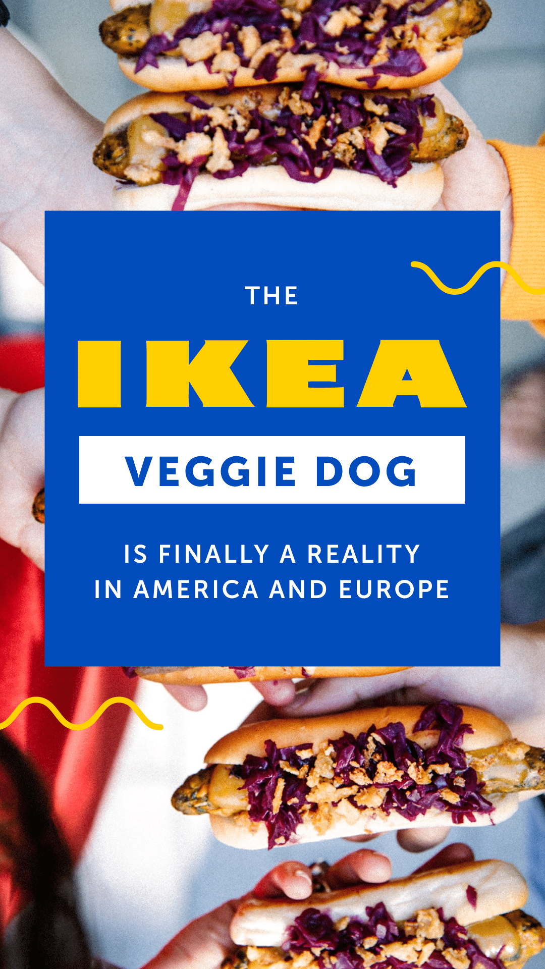 The IKEA Veggie Dog Is Finally a Reality in America and Europe