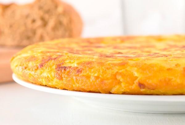 tortilla española vegana sin huevo
