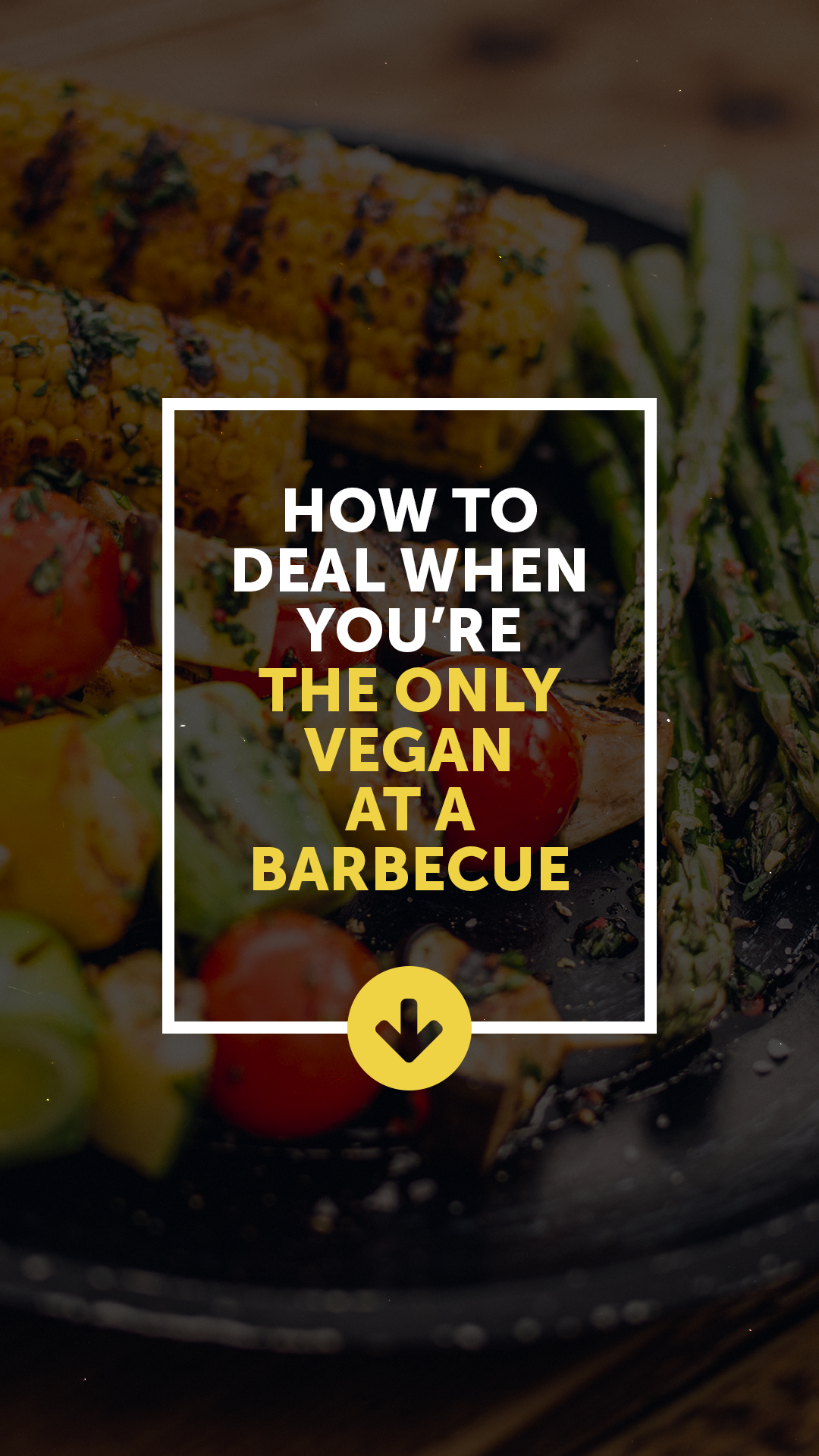 How to Deal When You're the Only Vegan at a Barbecue