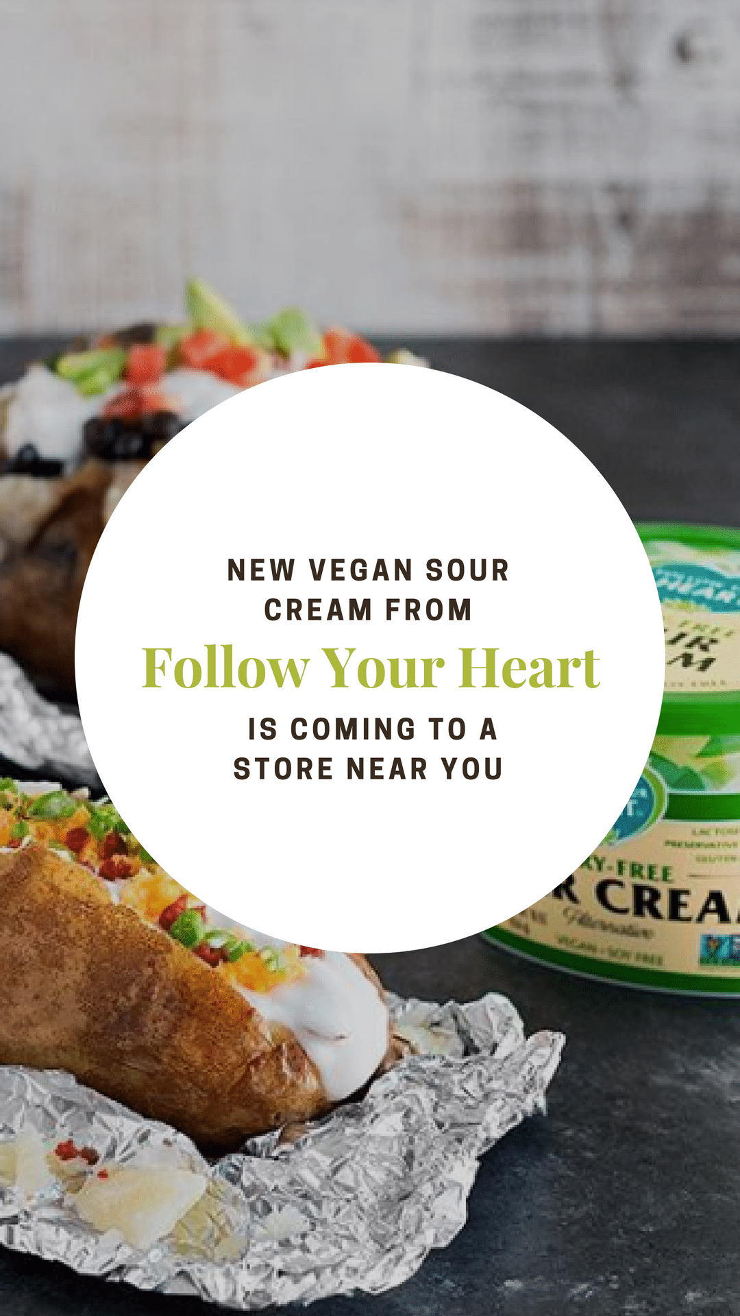 New Vegan Sour Cream From Follow Your Heart Is Coming to a Store Near You