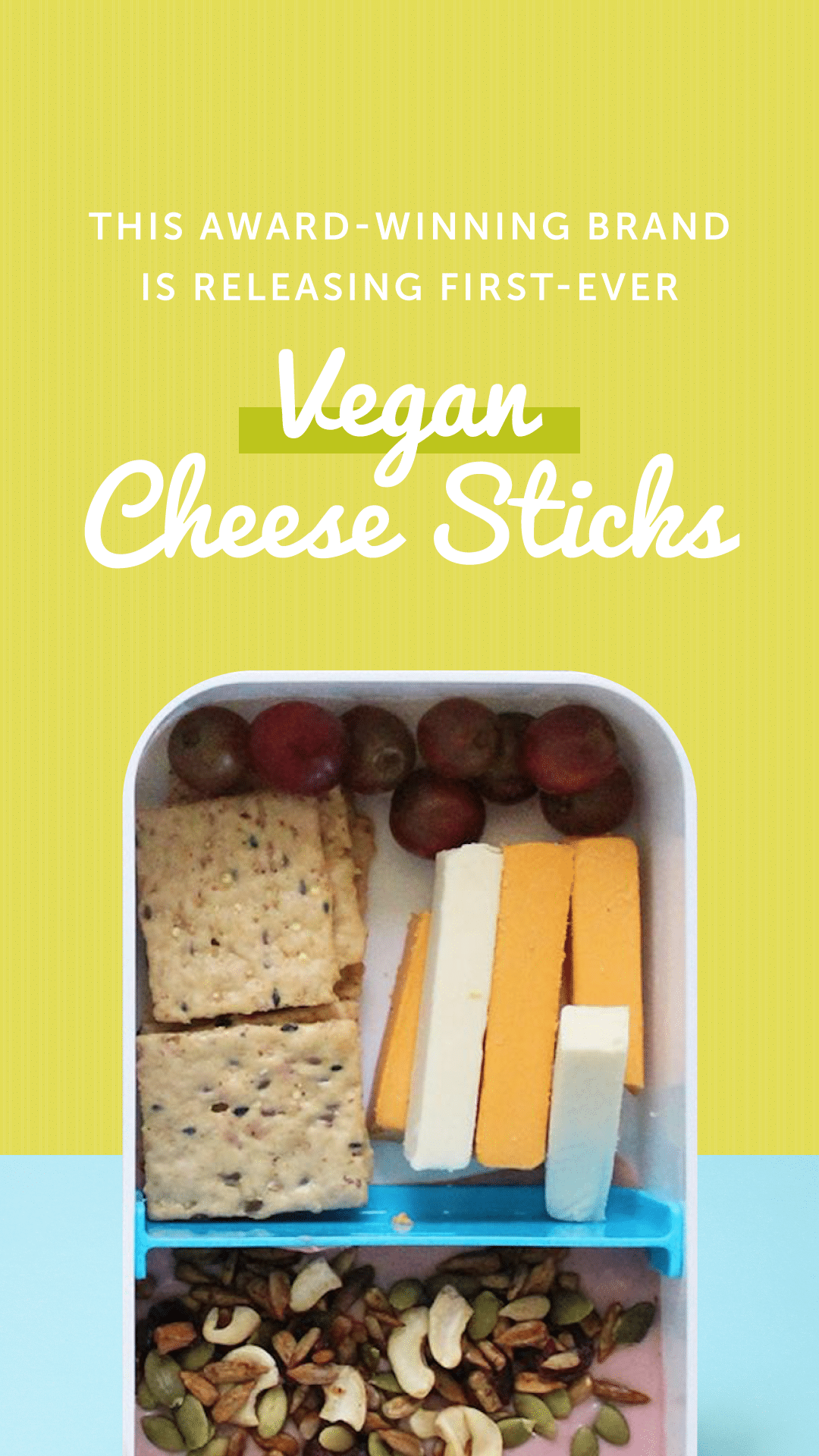 This Award-Winning Brand Is Releasing First-Ever Vegan Cheese Sticks