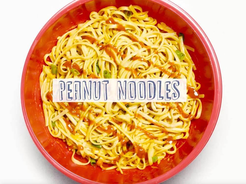 Easy Peanut Noodles