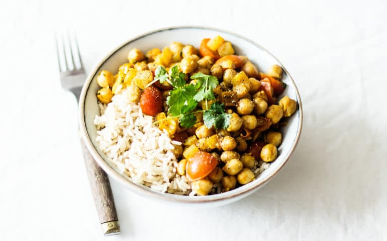 Five-Minute Chana Masala