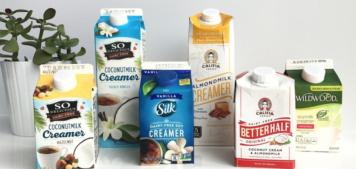 We Tried 6 Different Vegan Creamers  This Is What We Thought