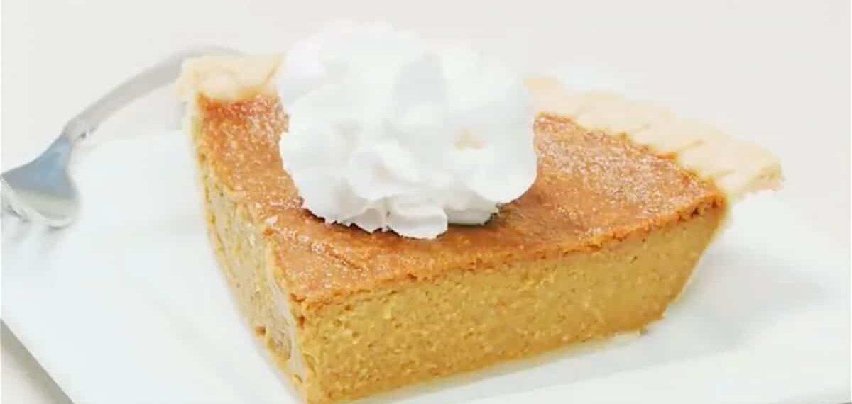 How to Make a Super-Easy (Vegan) Pumpkin Pie