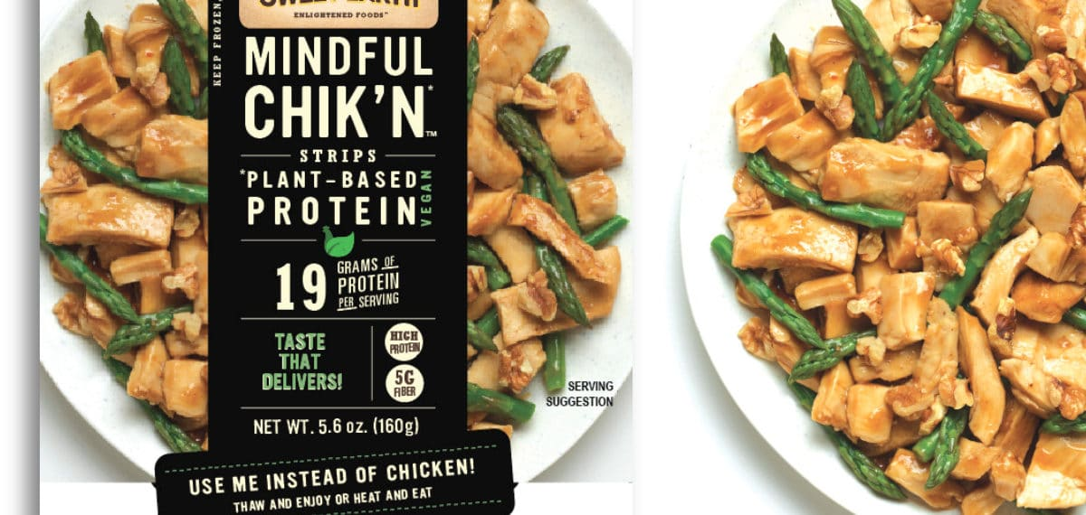 High-Protein Vegan Chicken From Sweet Earth Foods Launching This Year