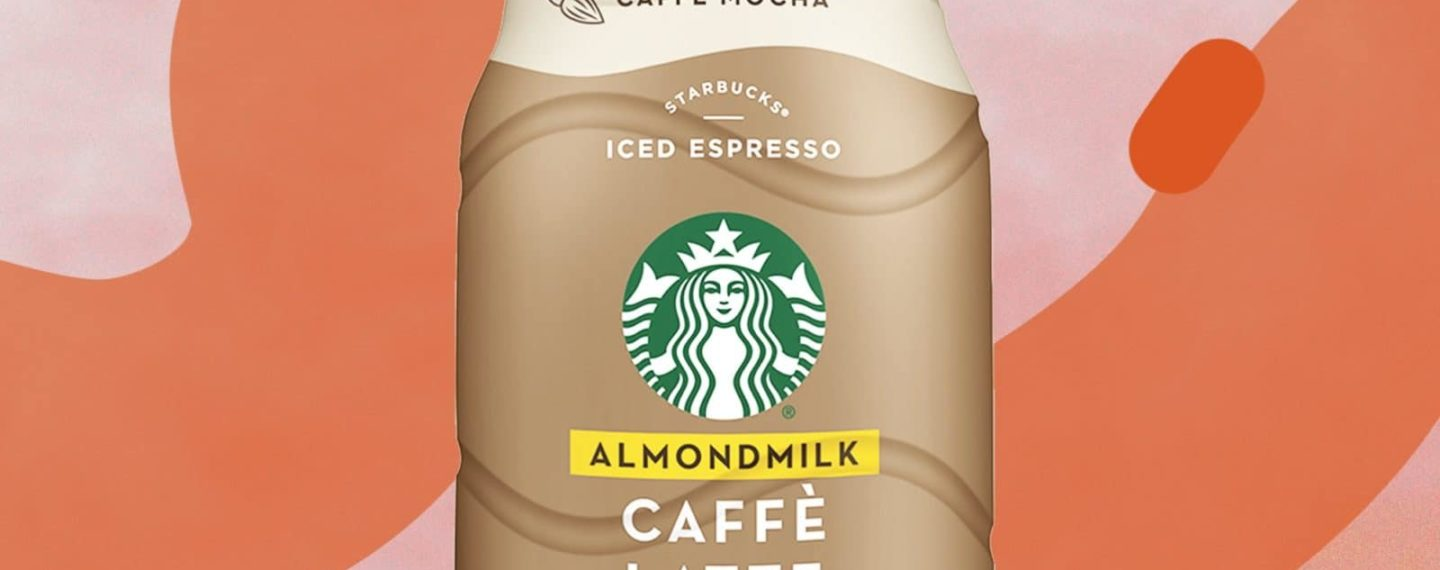Starbucks Debuts New Almond Milk Espresso Drinks, Coming to Grocers
