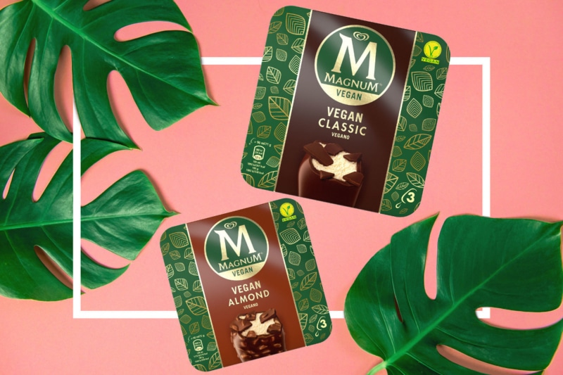 New Vegan Ice Cream Bars From Magnum Headed to Grocers