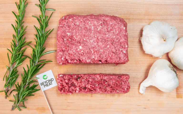 Beyond Meat Unveils Plant-Based Ground Beef Coming to Grocers