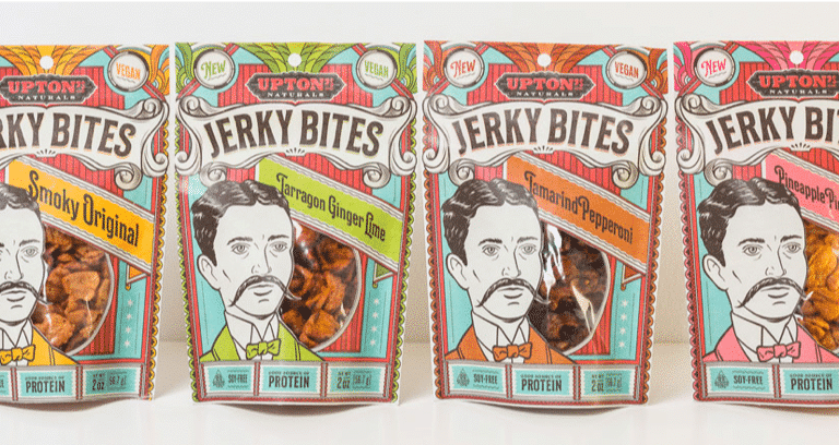 Upton's Announces New Vegan Jerky Line Coming in 2019