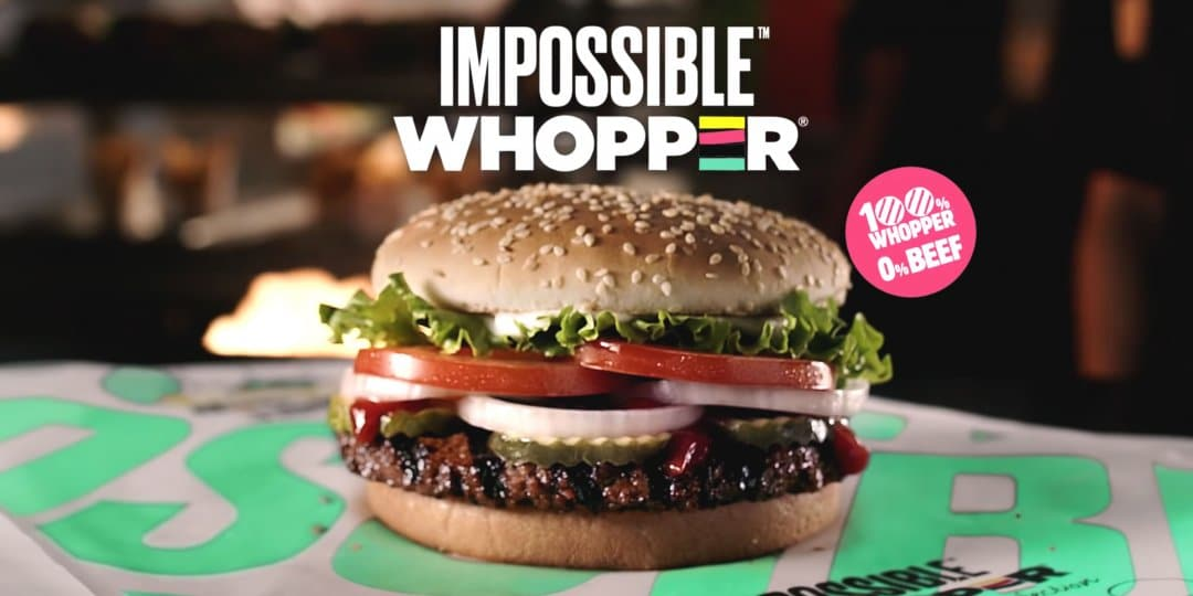 Impossible Whopper Comes to California, Now Available at 100 Bay Area Burger Kings