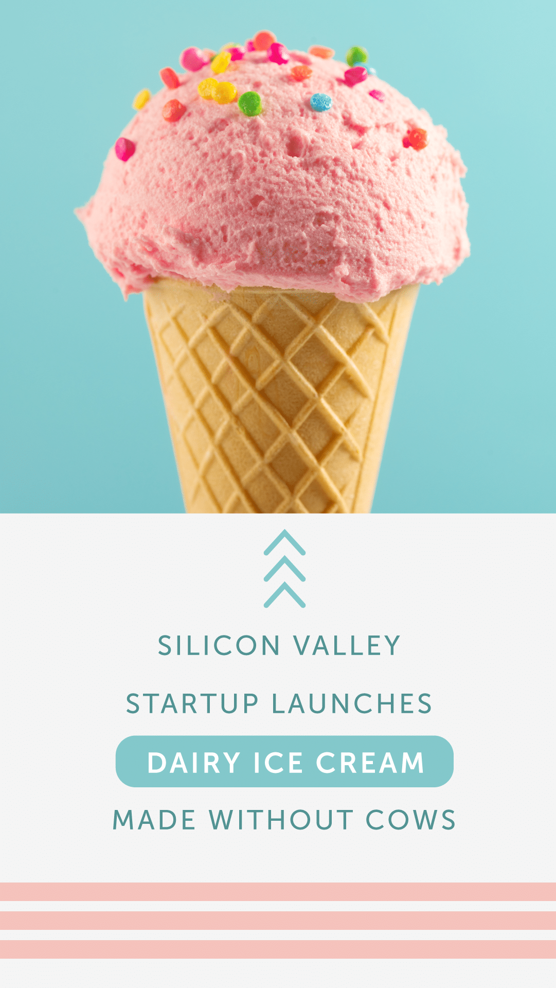 Silicon Valley Startup Launches Dairy Ice Cream Made Without Cows