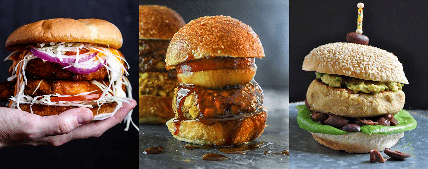 9 Vegan Burger Recipes You'll Want to Make Over and Over