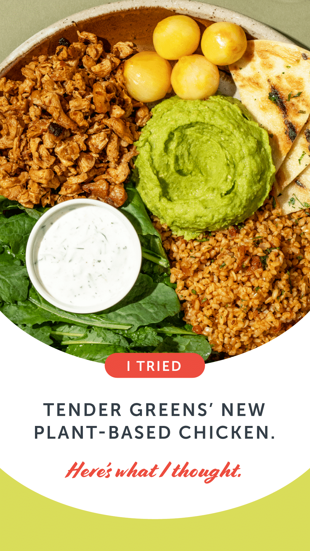 I Tried Tender Greens' New Plant-Based Chicken. Here's What I Thought.
