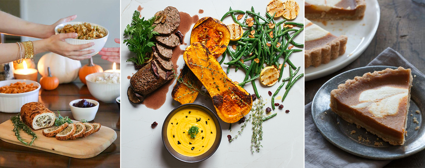 Cater Your Plant-Based Thanksgiving with Beyond Sushi, Veggie Grill, and More