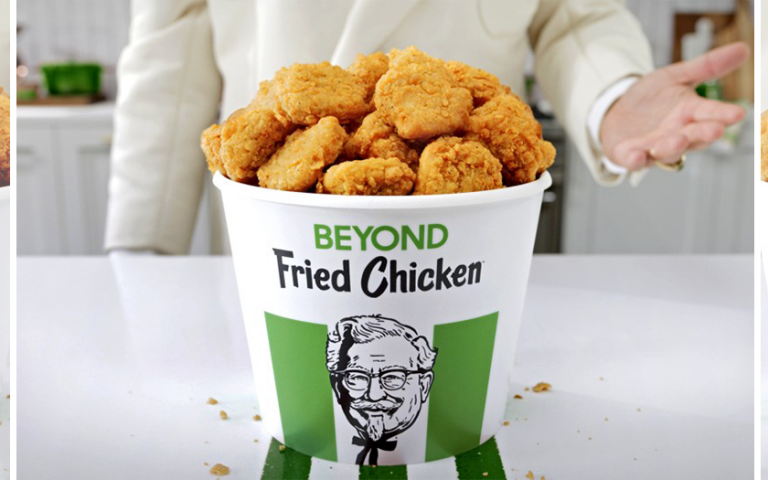 KFC Is Testing Plant-Based Beyond Fried Chicken at Over 65 U.S. Locations