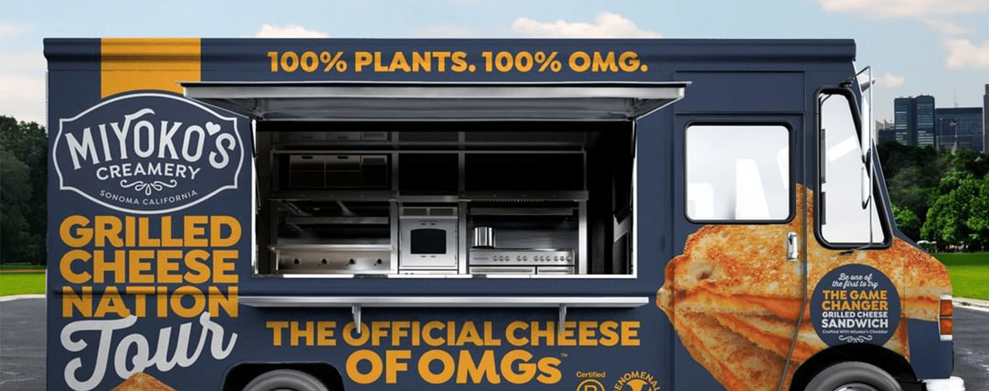 This Food Truck Is Giving Away Free Vegan Grilled Cheese Sandwiches