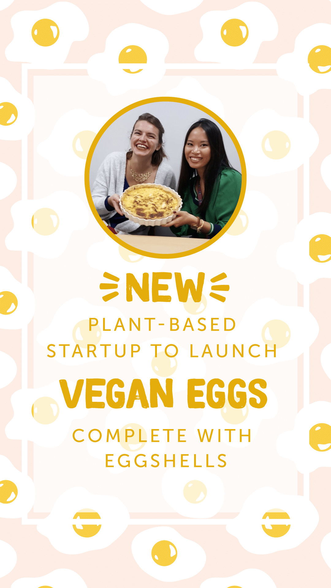 New Plant-Based Startup to Launch Vegan Eggs Complete with Eggshells