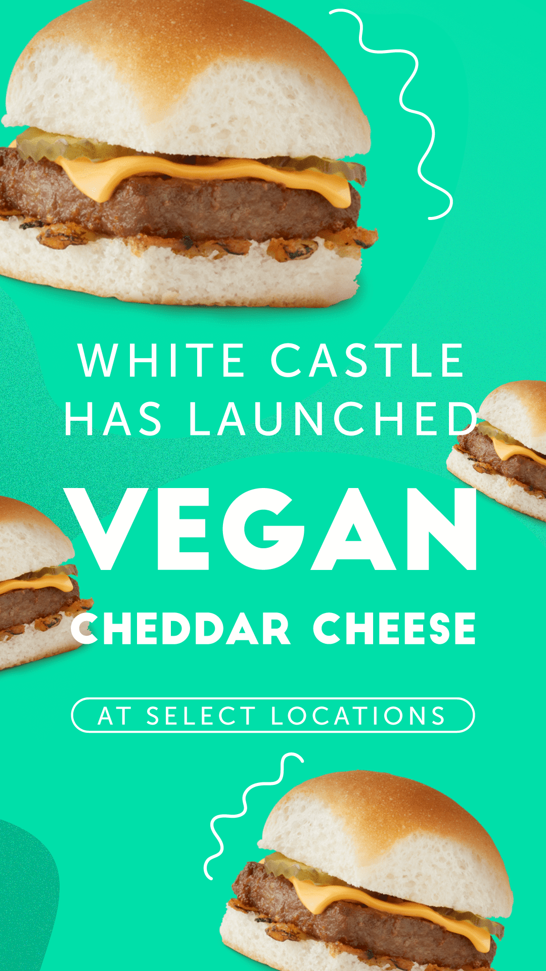 White Castle to Launch Vegan Cheddar Cheese at Select Locations
