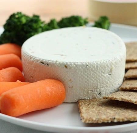 Tipos de quesos veganos