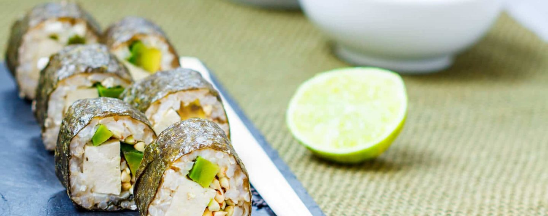 Sushi de quinua