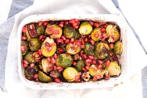 coles de bruselas al horno receta veganA