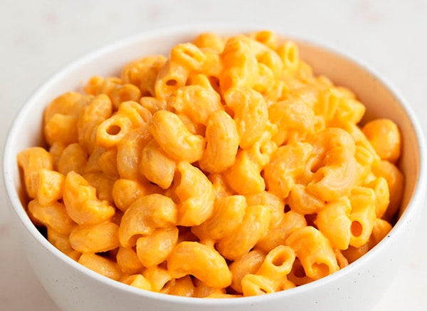 mac and cheese vegano