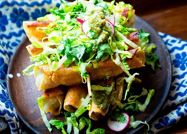 recetas veganas de tortilla de maiz