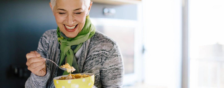 Alimentación vegana en personas de la tercera edad