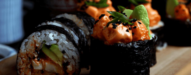 5 maneras de preparar delicioso sushi vegano