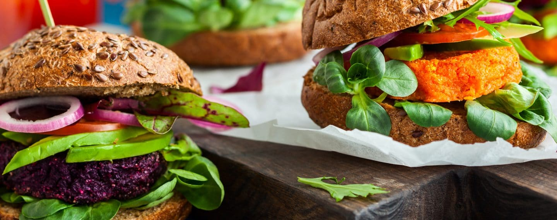 Las 10 mejores recetas para preparar hamburguesas veganas