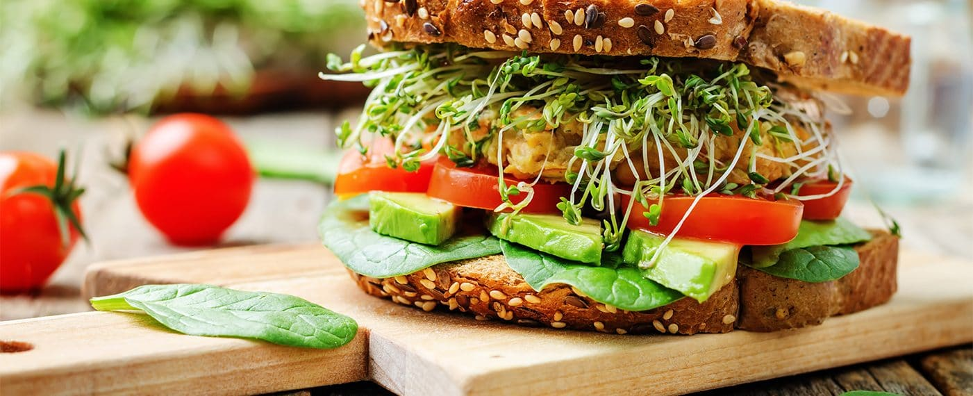 8 recetas de sándwiches veganos que no te puedes perder