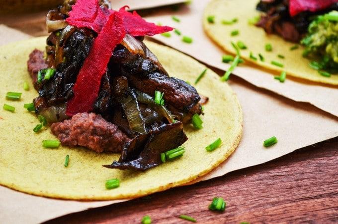tacos veganos