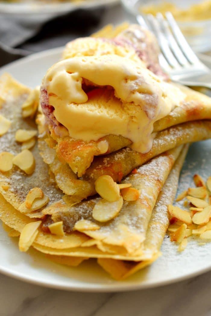 receta de crepas sin huevos