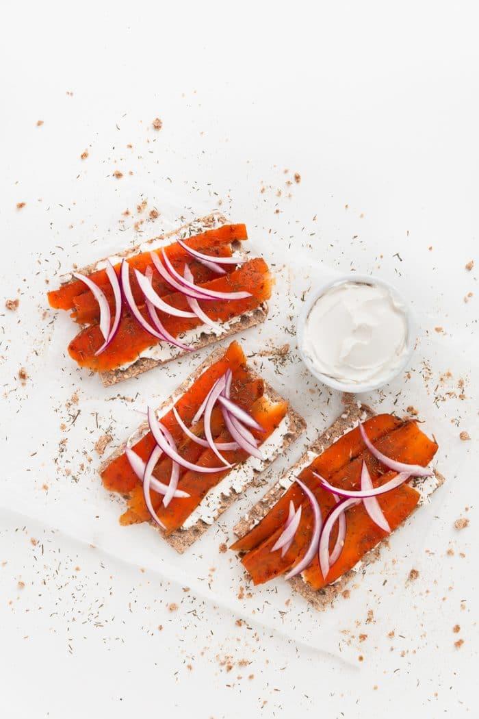 salmon vegano