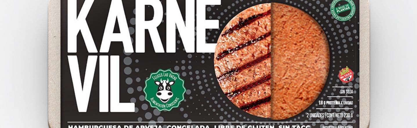 ¡Esta hamburguesa vegana creada en Argentina es todo un éxito!