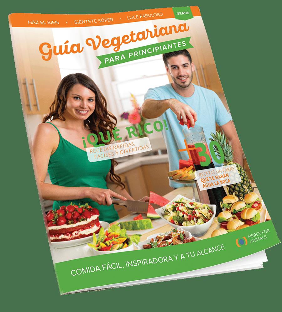 Obtén tu Guía vegetariana para principiantes