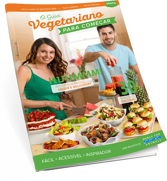 Garanta agora seu Guia Vegetariano gratuito!