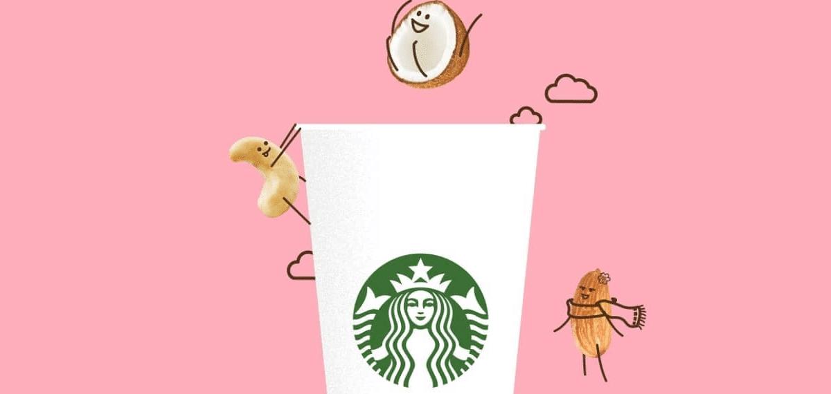 Starbucks lança nova linha de bebidas veganas no Brasil!