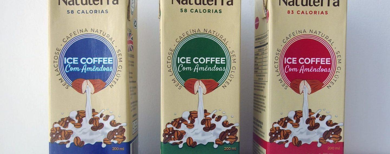 Natuterra lança três sabores de cafés gelados veganos