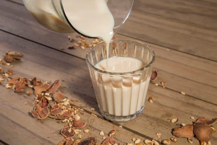 leite de nozes