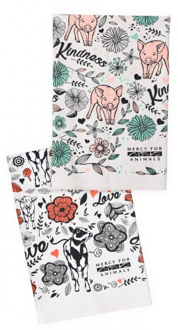 Sweet Notions Tea Towel Set
