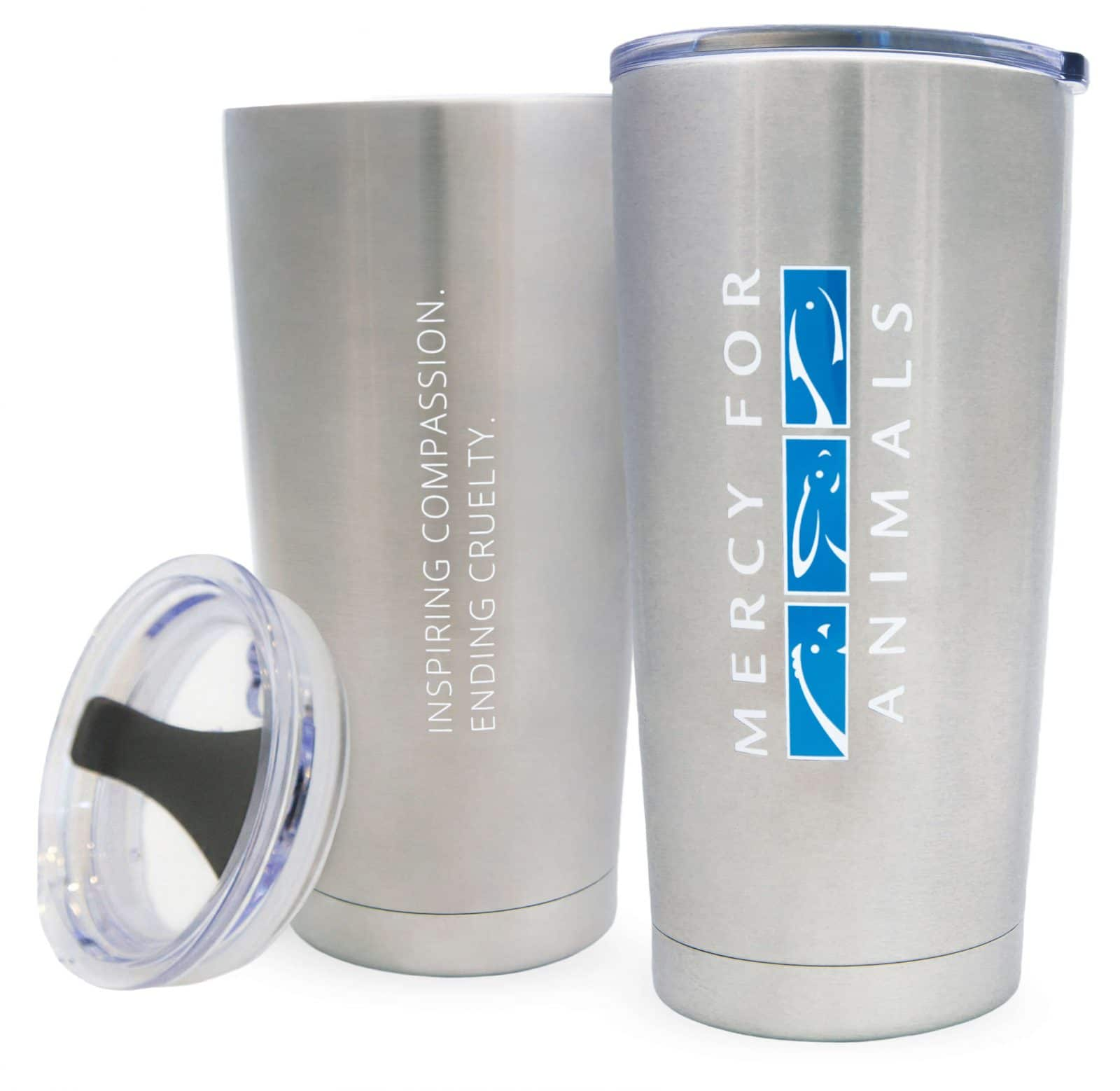 Logo Travel Tumbler