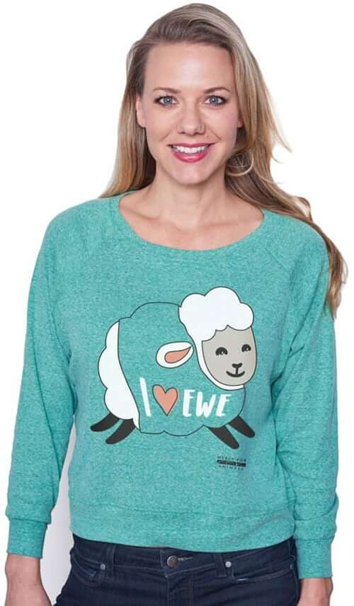 'Heart Ewe' Long Sleeve T