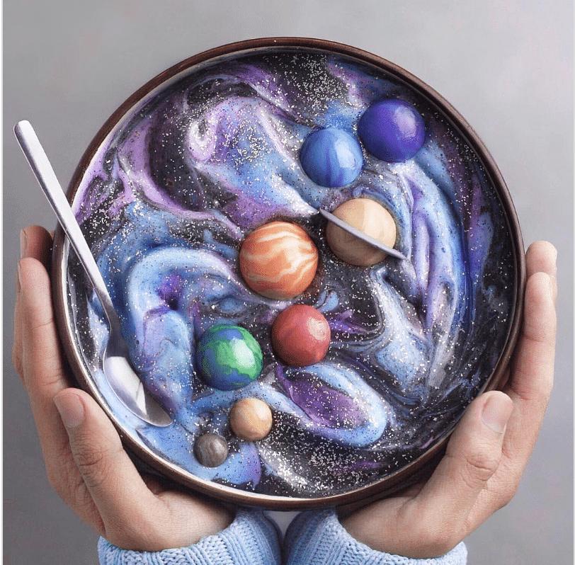 Este adolescente vegano crea obras de arte comestibles