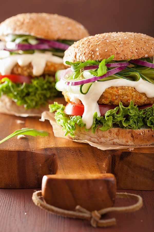 Esta hamburguesa de lentejas se convertirá en tu favorita
