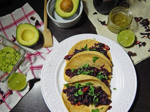 tacos veganos de jamaica