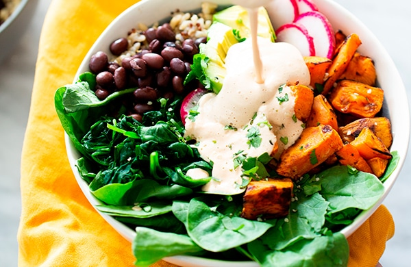 budah bowl vegan