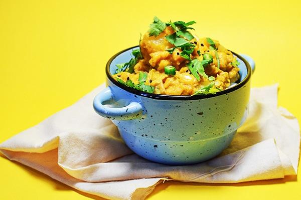 garbanzos con curry